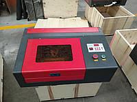 Гравер лазер 2030 поле 200х300 мм 40 вт. Co2 Лазерный гравировальный станок с ЧПУ