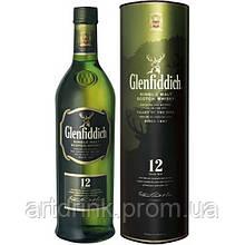 Виски Glenfiddich 12 лет выдержки 0.5L