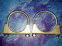 Хомут глушителя Зил Газ Камаз диаметр 38-66. 2 шт, фото 1