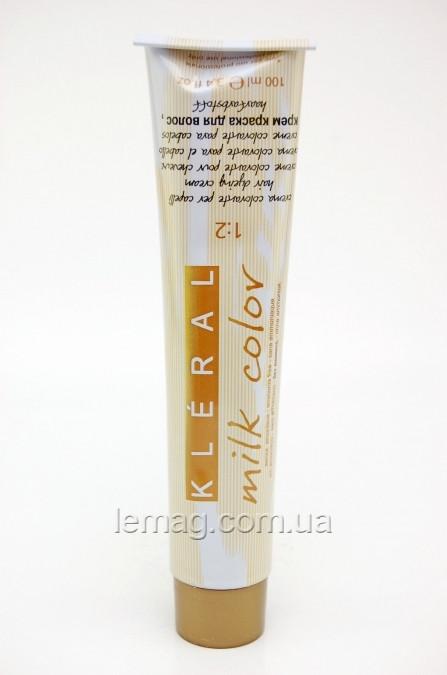Kleral System Milk Color Безаммиачная крем-краска для волос 1.0 - Черный, 100 мл