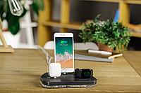 Док-станция  ATIKgroups Gray 3|Зарядка для Айфон iPad Airpods Apple Watch