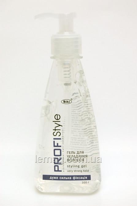 Вики Profistyle Гель для укладки волос с дозатором сильная фиксация, 500 гр