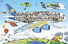 Великий віммельбух Аеропорт. Книга Ізабель Гьонтґен, фото 3