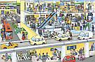 Великий віммельбух Аеропорт. Книга Ізабель Гьонтґен, фото 2