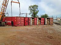 Перевалка леса в контейнеры