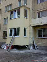 Балконы из сип панелей