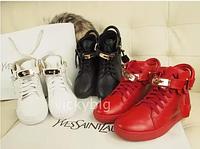 Ботинки из натуральной кожи Jon Buscemi