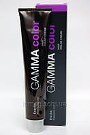 Erayba Gamma Стойкая крем-краска 4/00+ - Средне-коричневый для седины, 100 мл