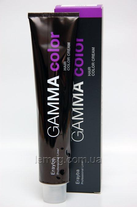 Erayba Professional Gamma Стойкая крем-краска 7/36 - Золотисто-коричневый средне-русый, 100 мл