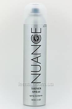 NUANCE CP Shiner spray Спрей-блеск для волос с УФ-фильтром и защитной формулой цвета, 300 мл