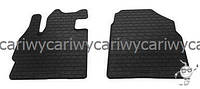 Коврики резиновые в салон Mazda CX-7 06- (design 2016) 2шт. Stingray