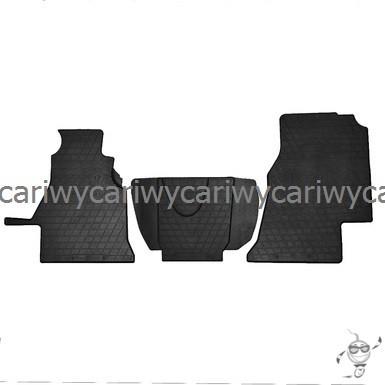 Коврики резиновые в салон Mercedes Sprinter 95-/VW LT 2 95- (1+2) (design 2016) 3шт. Stingray