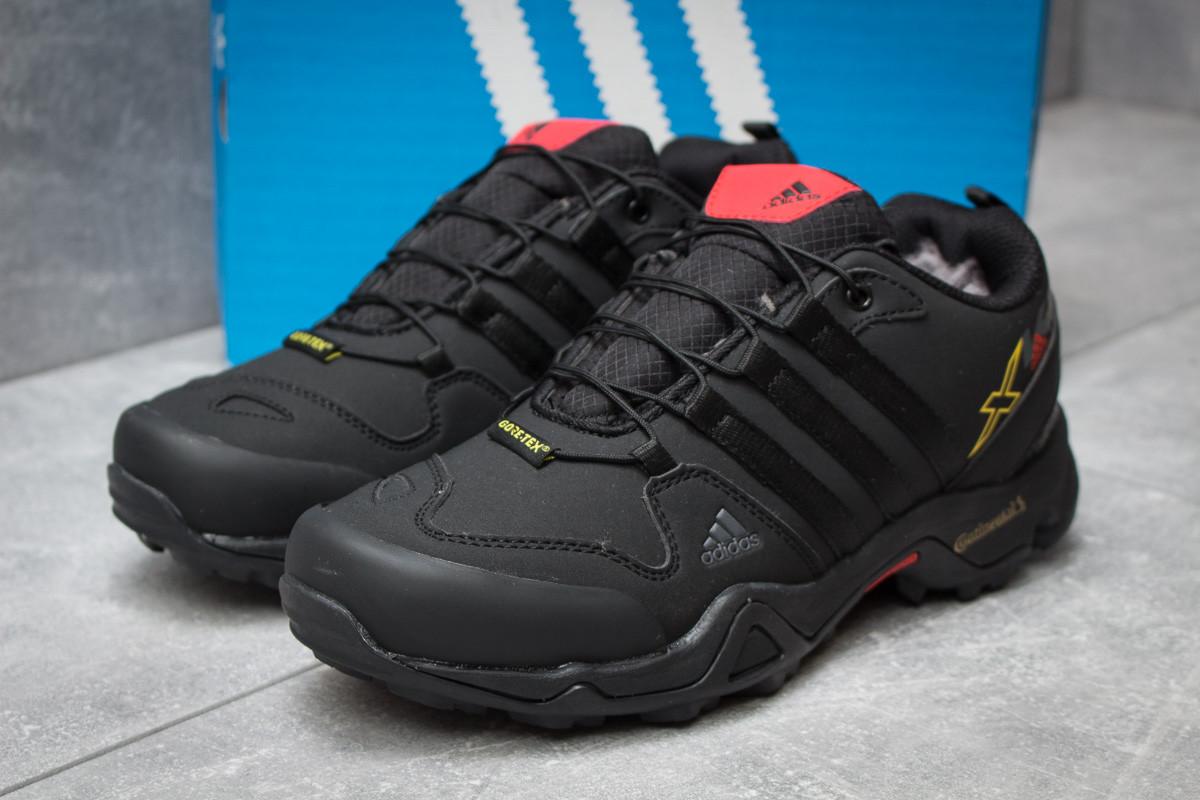 Зимние кроссовки в стиле Adidas Terrex Gore Tex, черные (30101),  [  42 43 44  ]