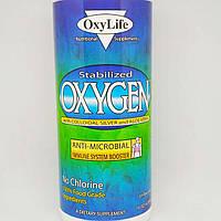 Окси Лайф стабилизированный кислород с коллоидным серебром и алоэ вера без вкуса 473 мл (OxyLife Stabilized Oxygen With Colloidal Silver and Aloe Vera
