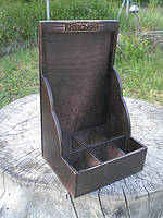 Настольный организатор из дерева (А4)