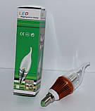 Светодиодная лампа свеча LED 220В (E14), Одесса, фото 2