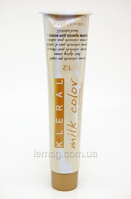 Kleral System Milk Color Безаммиачная крем-краска 5.31 - Светло-коричневый с золотисто-пепельным