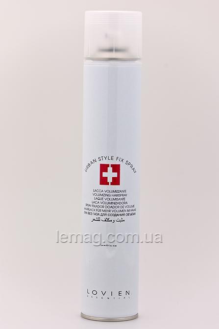 LOVIEN Essential Lovien Essential Urban Style Fix Finish Spray Лак сильной фиксации, 500 мл
