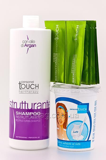 "Personal Touch Personal Touch Drops of light Комплекс для реконструкции волос ""Капля Света"" 4, Набор"
