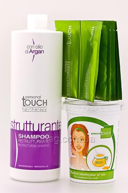"Personal Touch Personal Touch Drops of light Комплекс для реконструкции и восстановления  волос ""Капля Света"" 5, Набор"