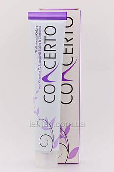 Concerto Кольорове лікування волосся кератином і вітаміном С, 5.7 - Світло-каштановий шоколадний, 100 мл