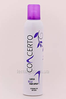 Concerto Eco Hair Spray Спрей сильной фиксации без газа, 350 мл