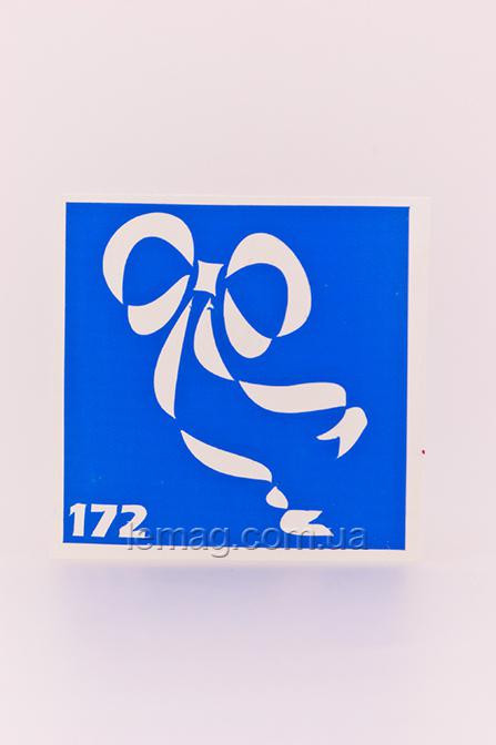 Boni Kasel Трафарет для био тату 6x6 см - 172, 1 шт