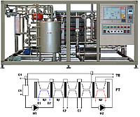 Универсальные пластинчатые  пастеризационно-охладительные установки УПО