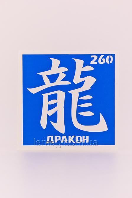 Boni Kasel Трафарет для био тату 6x6 см - 260, 1 шт