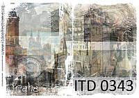Декупажная карта 0343
