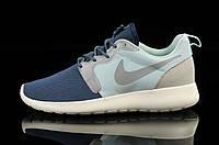 Мужские кроссовки Nike Roshe Run HYP blue-grey, фото 1