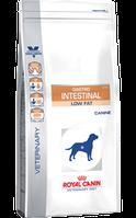 Gastro-intestinal low fat диета с ограниченным содержанием жиров, при нарушениях пищеварения у собак -1,5кг