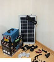 Домашнее электроснабжение от солнечной энергии солнечная система GD-8018, фото 1