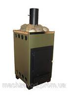 Печь каменка сауна Огонек (внутреняя в обшивке квадратная)