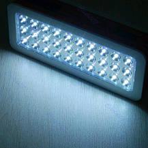 Светодиодная аккумуляторная лампа 30 LED для аварийного освещения, фото 2