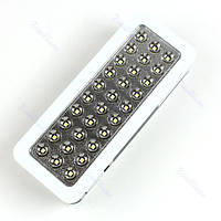 Светодиодная аккумуляторная лампа 30 LED для аварийного освещения
