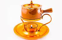 Кофейник-джезва с подставкой-горелкой