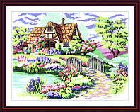 Вышивка крестиком Дом мечты
