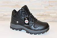 Кроссовки черные зимние С678 , фото 1