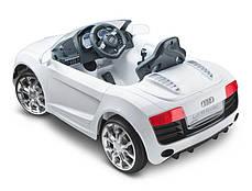 Детский Электромобиль Audi 2316 черная на аммортизаторах и радиоуправлении, открываются дверцы, фото 3