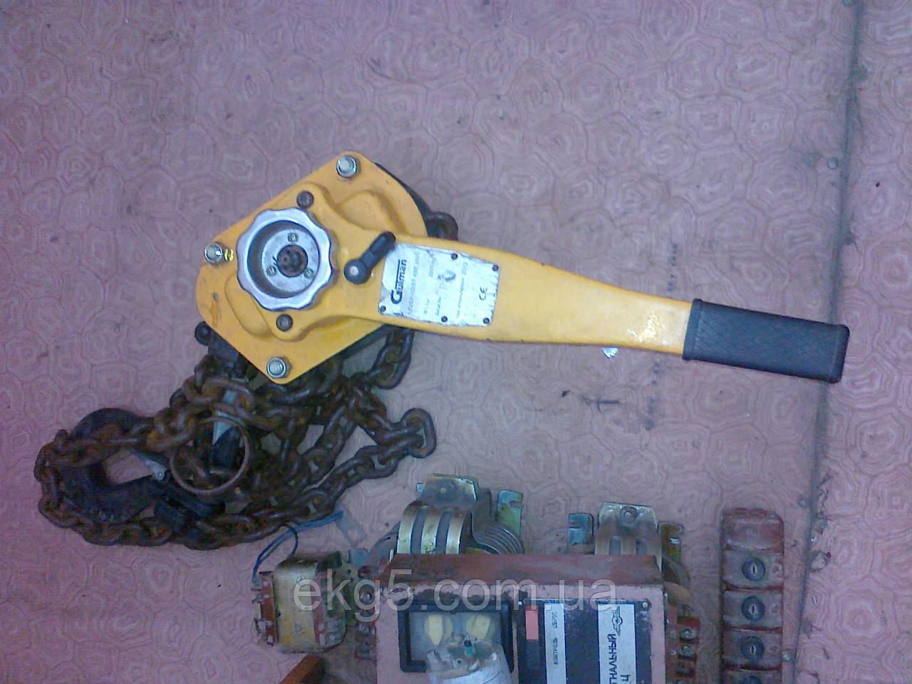 Таль ручная с рычагом Gutman KBE-3000