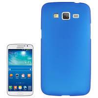 Чехол-бампер для  Samsung Galaxy Grand 2 / G7102 / G7106. Силиконовый. Синий.