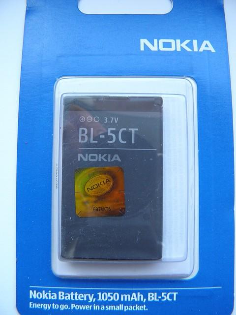 Аккумулятор BL 5CT для Nokia 3720, 5220, 6303, 6303i, 6730, C3, C5 AAA - интернет магазин vladvoz.in.ua мтс 0664476900, киевстар 0977864700, лайф 0933641800 в Николаевской области