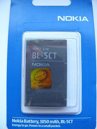 Аккумулятор BL 5CT для Nokia 3720, 5220, 6303, 6303i, 6730, C3, C5 AAA, фото 2