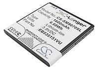 Аккумуляторная батарея CameronSino для смартфона Samsung Galaxy S Advance (GT-i9070), 1600mAh/6.08Wh, X-Longer