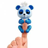 Интерактивная ручная панда Арчи (синяя), Fingerlings, WowWee (W3560/3563)