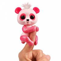 Интерактивная ручная панда Полли (розовая), Fingerlings, WowWee (W3560/3561)