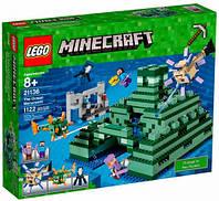 Конструктор Подводный храм LEGO Minecraft (21136)