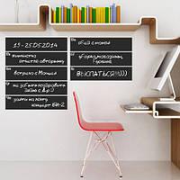 Наклейка-планер доска для мела Календарь на неделю (самоклеющаяся пленка для рисования мелом) под мел, фото 1