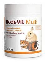 Витаминно-минеральная добавка для грызунов и кроликов Dolfos RodeVit Multi, 60 г